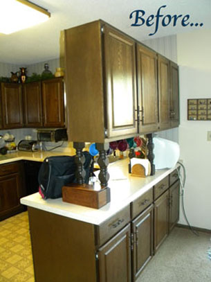 Before image of kitchen