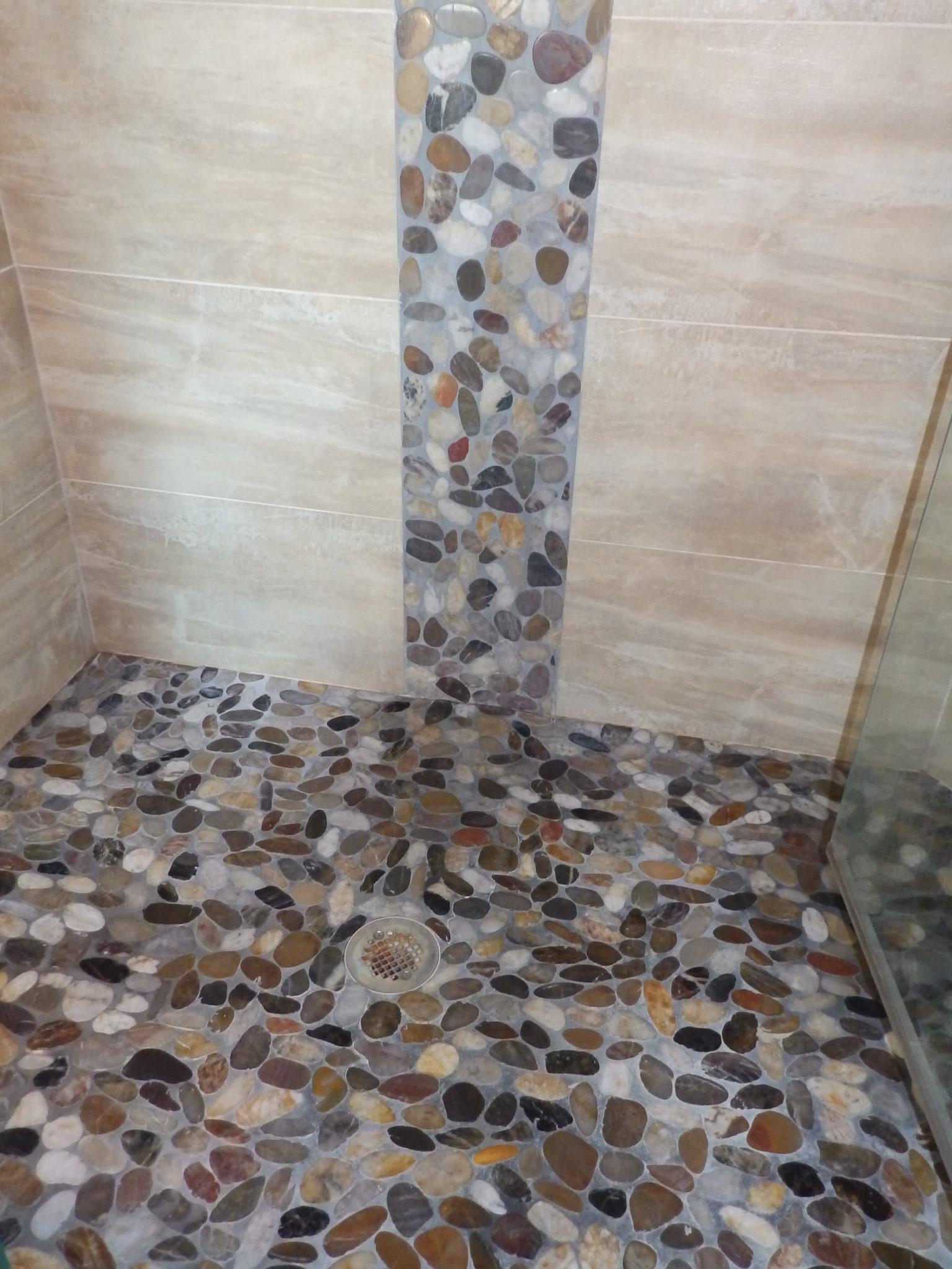 Bathroom shower floor