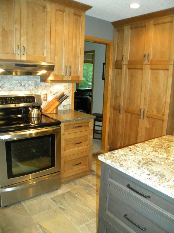 Before image of Sandvil kitchen