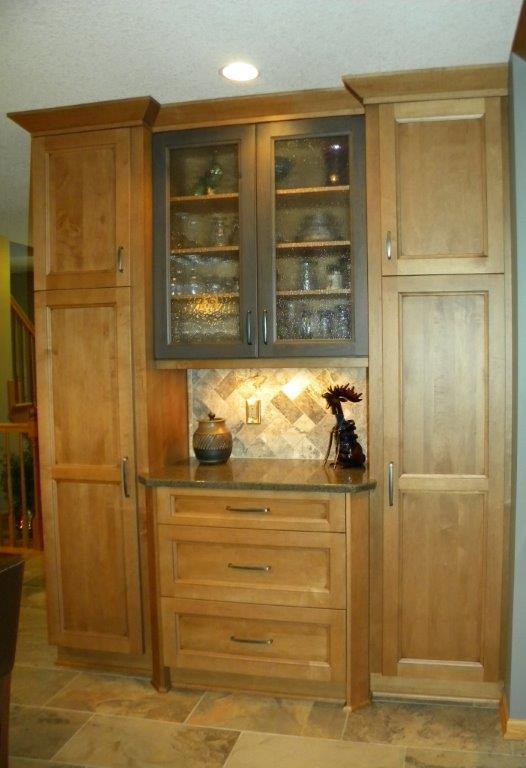 Before image, Sandvil kitchen
