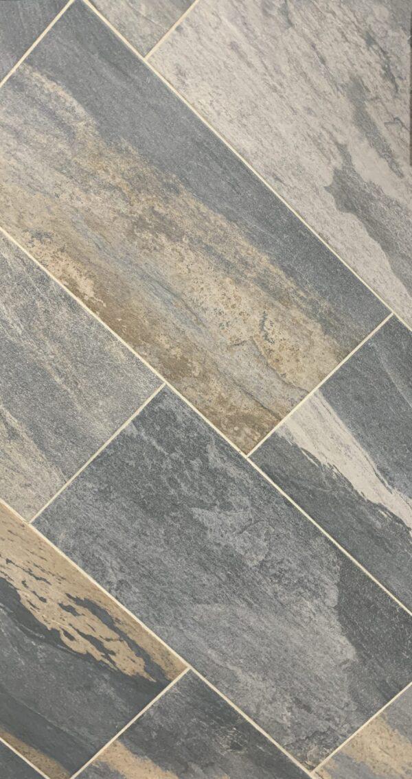 Meridian Slate Grey Porcelain Tile