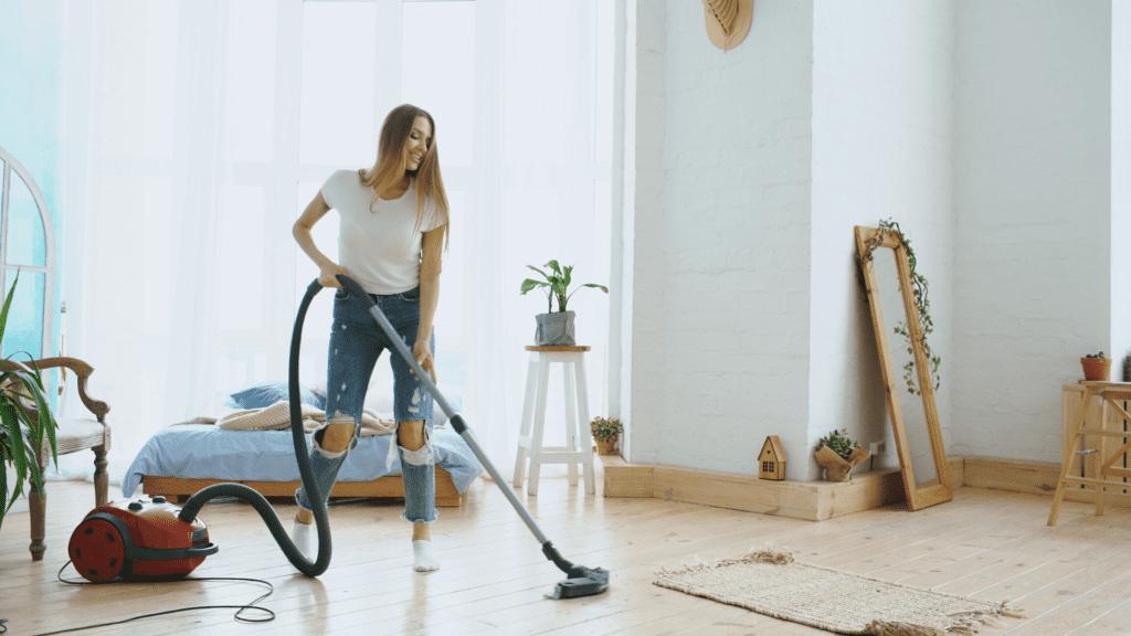 Vacuuming Hard Surfaces