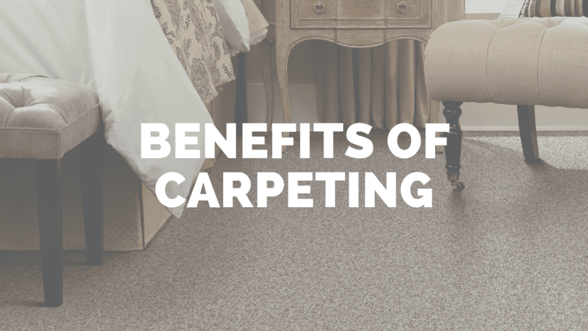 Benefits of Carpeting blog cover