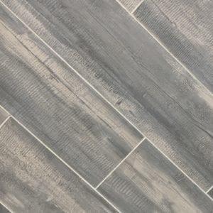 River Wood Charcoal tile