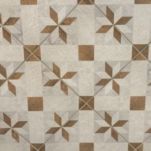 City Side Beige Deco A tile