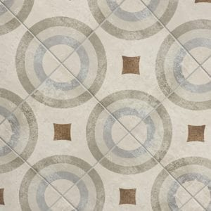 City Side Beige Deco D tile
