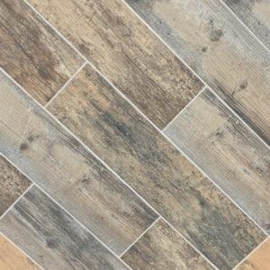 EcoWood Multicolor tile