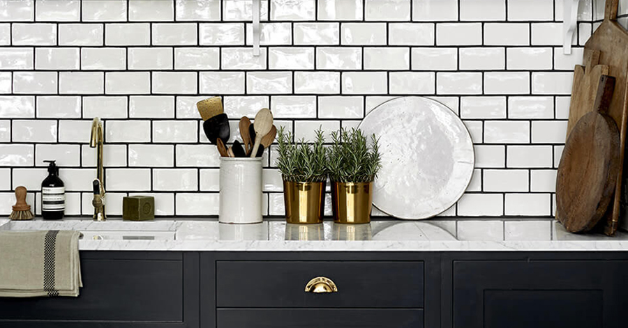 Contrasting Grout