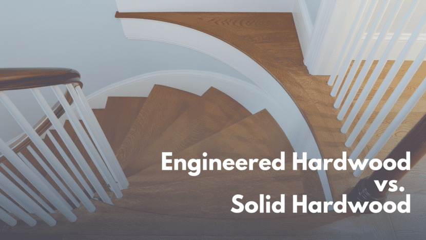 engineered hardwood vs. solid hardwood